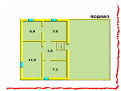 Загородный дом, Ропша, Ломоносовский район (Малые Горки). - Фото 4