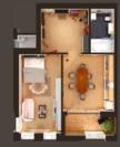 Продам квартиру (евродвушка) в самом сердце Зеленой рощи - Фото 4