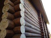 Новый качественный бревенчатый сруб 200 м2 в деревне Лешково - Фото 5