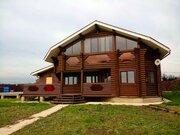 Экологичный дом на берегу водохранилища.