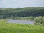 Участок на высоком берегу реки Оки - Фото 1