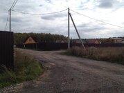 Земельный участок (с электричеством) в Чеховском районе, д. Бершово, - Фото 1