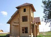 Дом из оцилиндрованного бревна 150м, Раменское, д.Бояркино, - Марково - Фото 3