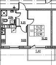 Продается однокомнтная квартира! Цена ниже, чем у застройщика!