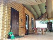 Красивый бревенчатый дом под ключ с баней газ есть - Фото 4