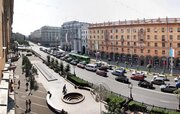 1-комнатная стильная квартира возле Октябрьской площади посуточно, Квартиры посуточно в Минске, ID объекта - 301729644 - Фото 1