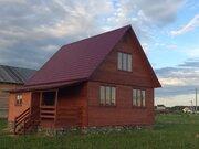 Уютный 2-х эт.каркасный дом 100м2 в д.Крева - Фото 1