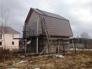 Участок 12 соток со срубом в п.Дорохово, Рузский район, 70 км. от МКАД - Фото 1