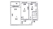2-комнатная квартиру в ЗАО, м. Славянский Бульвар. - Фото 2