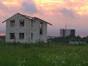 Земельный участок с недостроенным домом 126 кв.м. - Фото 2