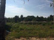 14 соток, лпх, д. Спас-Темня Чеховский р-н, лес, река, асфальт - Фото 1
