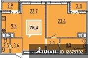 Продаю2комнатнуюквартиру, Краснодар, улица Бородинская, 152, Купить квартиру в Краснодаре по недорогой цене, ID объекта - 321711564 - Фото 1