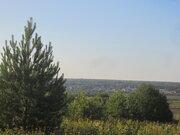 Земельный участок с панорамным видом на реке Ока д. Тульчино 25 соток - Фото 4