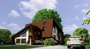 Дизайнерский коттедж в стиле модерн в г. Дубна