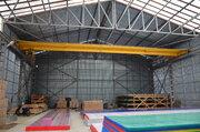 Производственно-складская база 1600 кв.м. на участке 1,12 га.