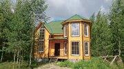 Красивый дом на лесном участке для постоянного проживания - Фото 1