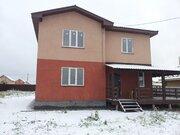 Продается новый дом 205м2, 10 сот, д.Малышево, Раменский район - Фото 1