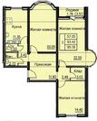 Видовая 3х-комнатная квартира в Новом доме у метро