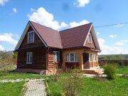 Бревенчатый дом на участке 20 соток в Сергиево-Посадском районе - Фото 2