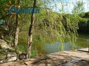 Участок с прудом в деревне Жуковского района Грачевка. - Фото 2