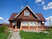 Бревенчатый дом на участке 20 соток в Сергиево-Посадском районе - Фото 1