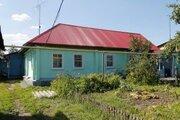 Рубленый дом с капитальным гаражом в Чаплыгинском районе Липецкой обл. - Фото 1