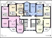 Продам 3-х комнатную квартиру в Восточном Бутово