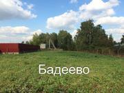10 соток в центре города Чехова мкр. Бадеево - Фото 1