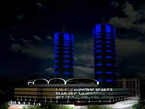 Бизнес-центры Алма-Ата - Бизнес центр «Рахат Тауэрс», г. Алматы, ул. Чайковского, 144 «А» - Фото 1