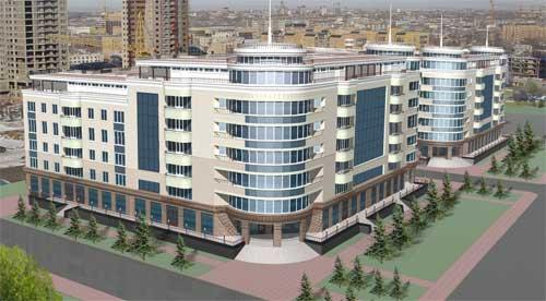 Бизнес-центры Астана - Бизнес центр Oriental House, г. Астана, пр. Республики - Фото 1