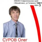 Суров Олег Вадимович