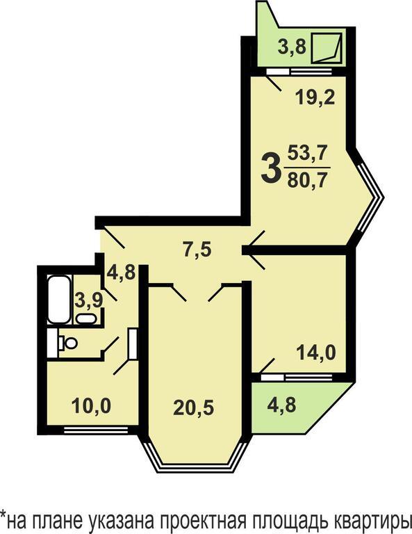 Продажа квартиры, красногорск, красногорский бульвар, красно.
