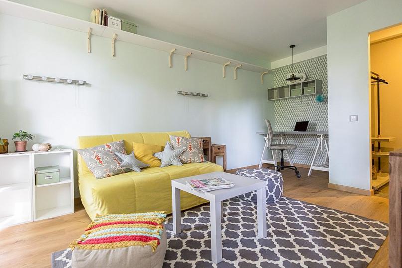 как однокомнатную квартиру сделать просторной своего рода