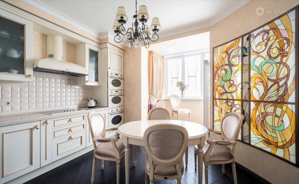 Объединение балкона с кухней: 70 лучших реализаций в квартир.