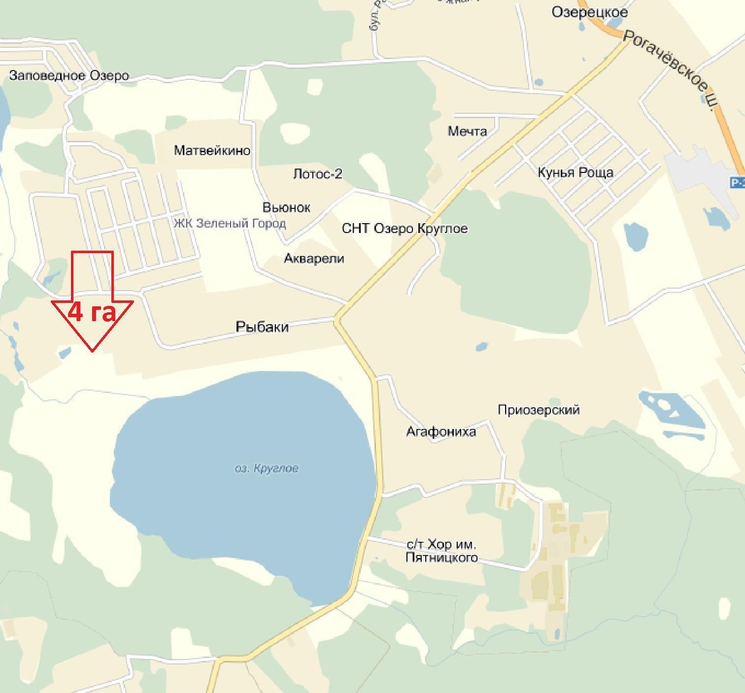 земельные участки дмитровский район рыбаки