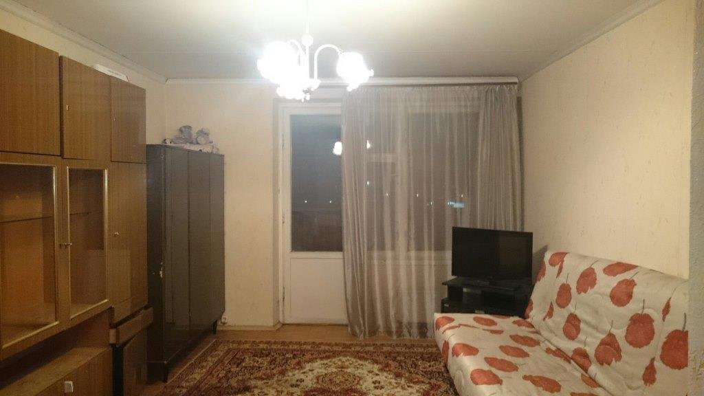 1-комнатная квартира в доме серии ii-68-01. - однокомнатная,.
