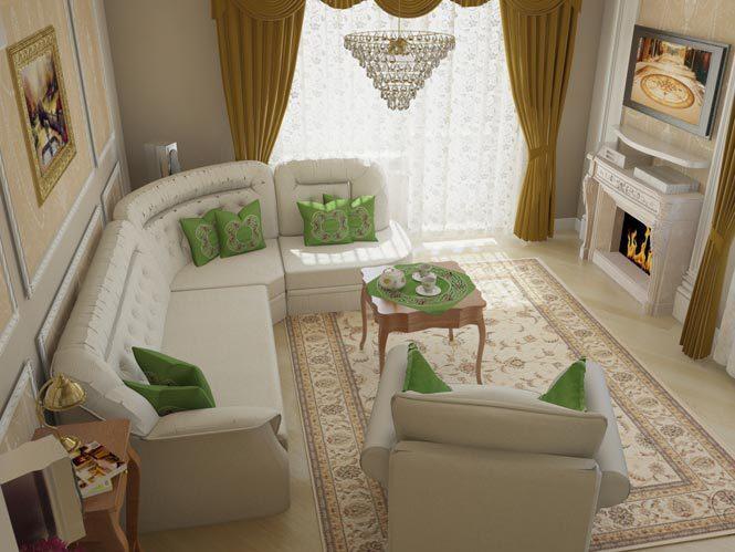 трехкомнатная квартира дизайн в классическом стиле в квартире фото