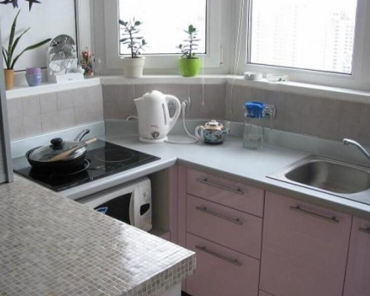 Как сделать в маленькой лоджии кухню - альтаир и к.