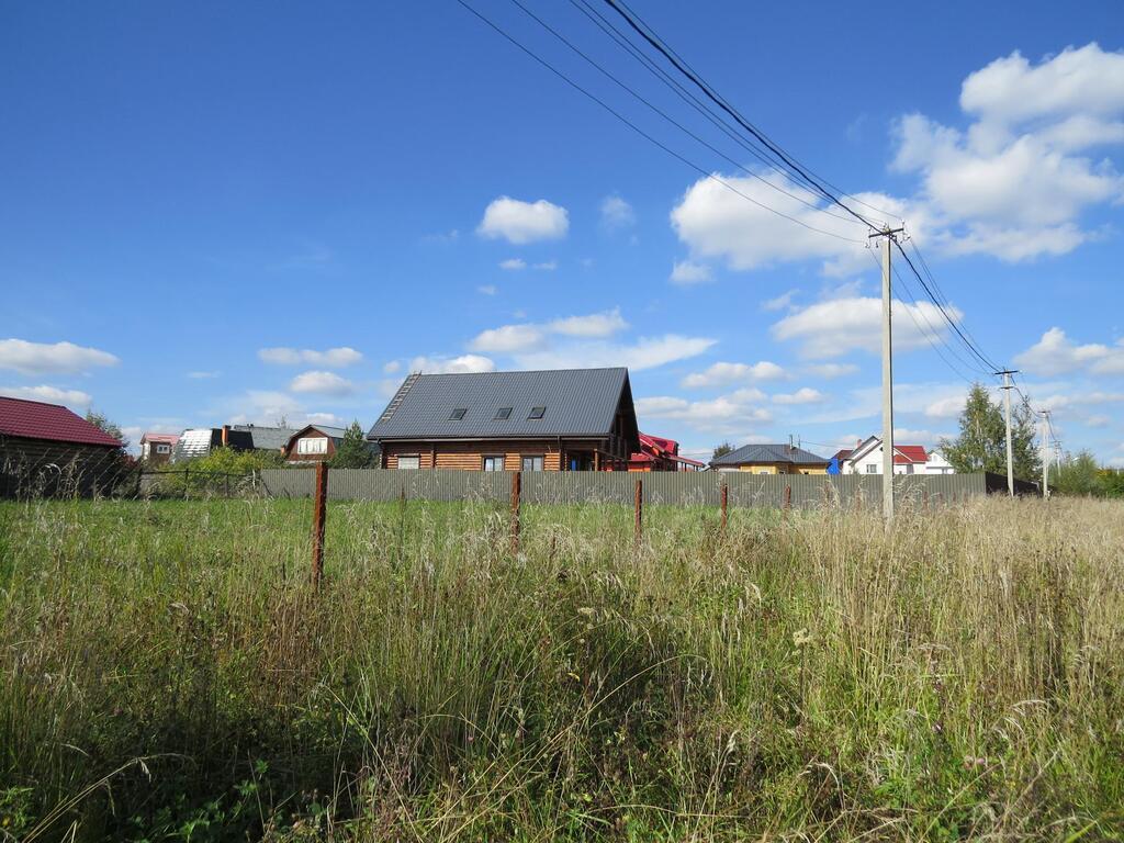 Строительство в деревне марушкино