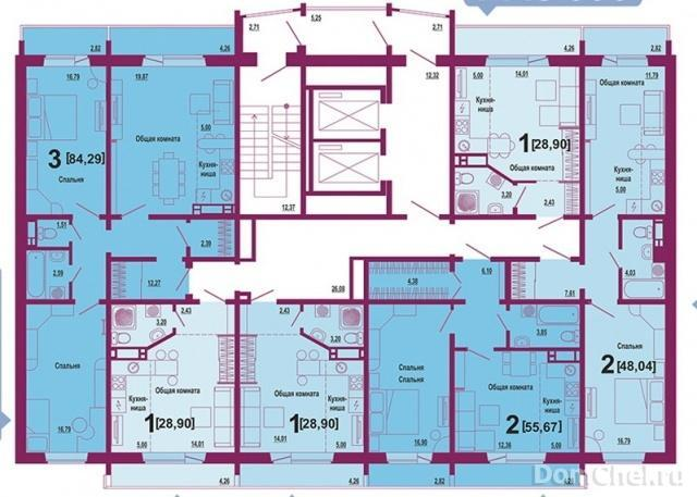 Купить квартиру в Академ Сити Riverside Челябинск