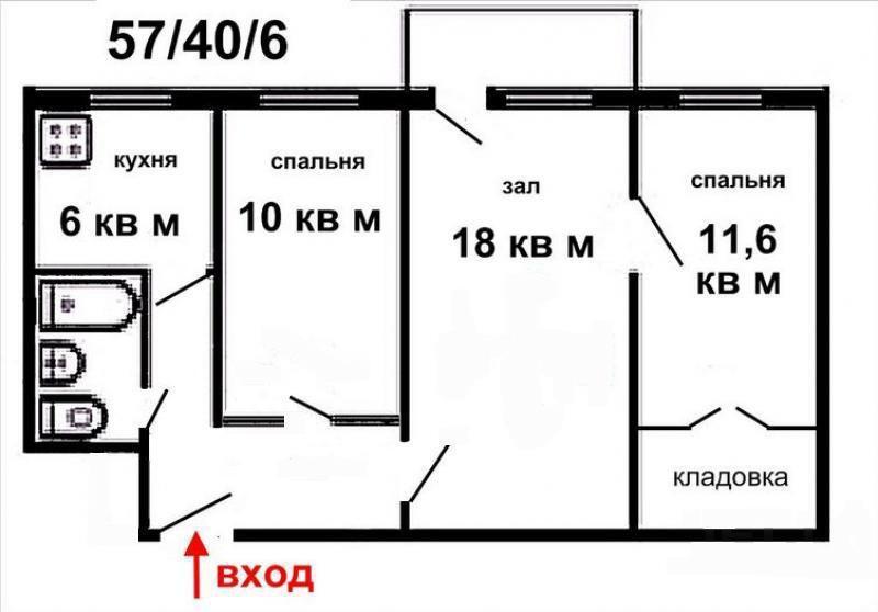 Продам 3-х комнатную квартиру на ул. тельмана, 16 - краснояр.