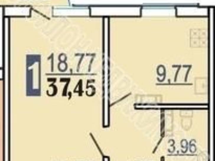 Продажа однокомнатной квартиры на проспекте победы, 34 в кур.
