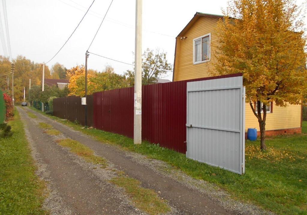 железная дверь на дачу солнечногорский район
