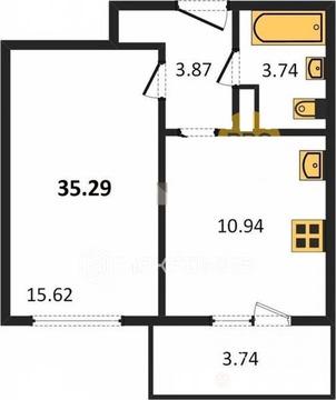 Объявление №61822475: Квартира 1 комн. Санкт-Петербург, Большой Сампсониевский проспект, 68,