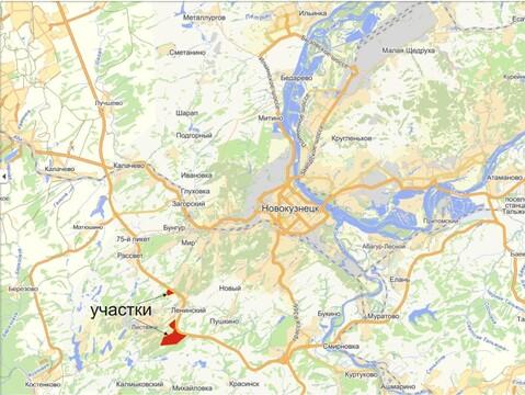 Земельный массив ИЖС рядом с Новокузнецком - Фото 3