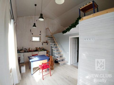 Круглогодичный, современный дом в деревне Болтино 62 км от МКАД. - Фото 1