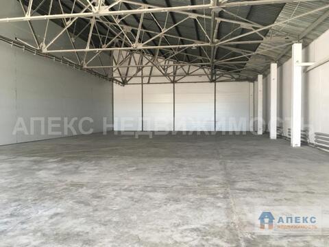 Аренда помещения пл. 780 м2 под склад, производство, Домодедово . - Фото 3