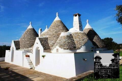 Продается усадьба с домами Трулли в Остуни - Фото 1
