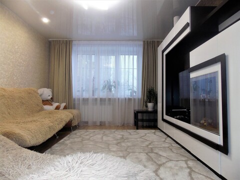 3-х комнатная квартира с ремонтом и частично с мебелью! - Фото 4
