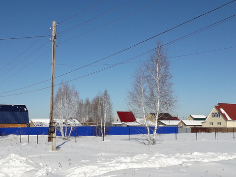 Участок 15,4сот, п. Богандинский, Тюменский район - Фото 1